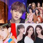 IU + BTS' Suga Earn Triple Crown On May Gaon Charts; TWICE, BLACKPINK, + EXO's Baekhyun Top Monthly + Weekly Charts