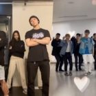Watch: Apink's Son Naeun And Kang Daniel Dance With SEVENTEEN Members For #LeftRightChallenge