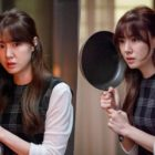 "Seo Ji Hye Faces Danger With A Frying Pan In ""Dinner Mate"""