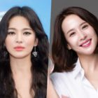"Song Hye Kyo Responds Affectionately To ""Parasite"" Star Jo Yeo Jeong Posting Old Photo From High School Days"