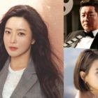 """Kim Hee Sun Thanks Jung Joon Ha And Seo Jeong Yeon For Supporting Her New Drama """"Alice"""""""