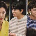 "Hwang Jung Eum Questions Yoon Hyun Min And Seo Ji Hoon's Relationship In ""To All The Guys Who Loved Me"""