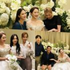 CSJH The Grace's Sunday Shares Photos From Her Wedding With Girls' Generation, Super Junior, And More