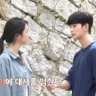 "Watch: Seo Ye Ji And Kim Soo Hyun Deal With A Surprising And Funny Interruption While Filming ""It's Okay To Not Be Okay"""