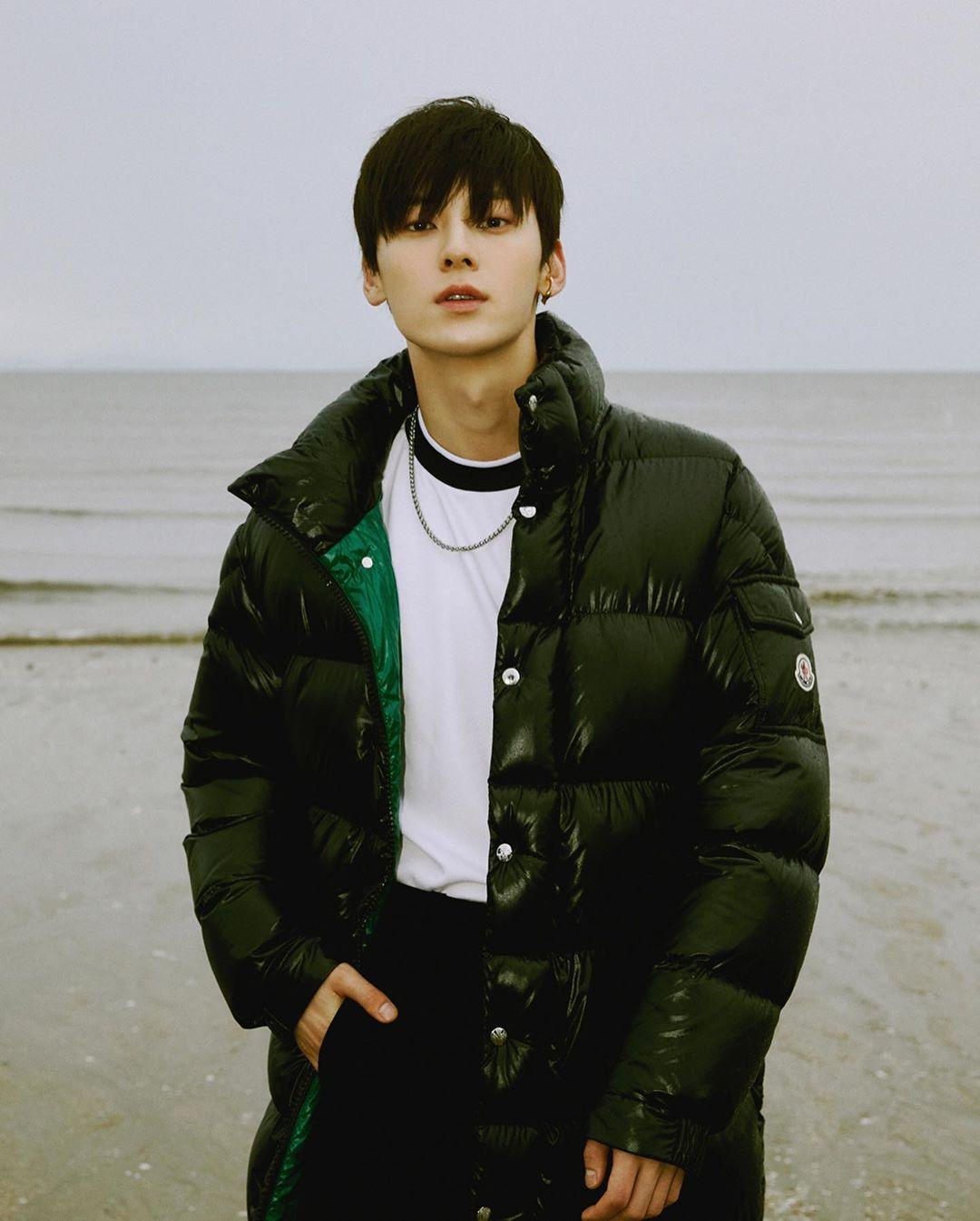 Minhyun NU'EST Esquire