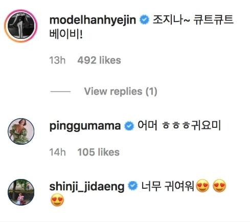Han Hye Jin Hwang Bora Shinji Comments