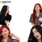 "Watch: Red Velvet's Irene And Seulgi Show How To End A Performance + Perform Signature ""Aegyo"" Song On ""Weekly Idol"""