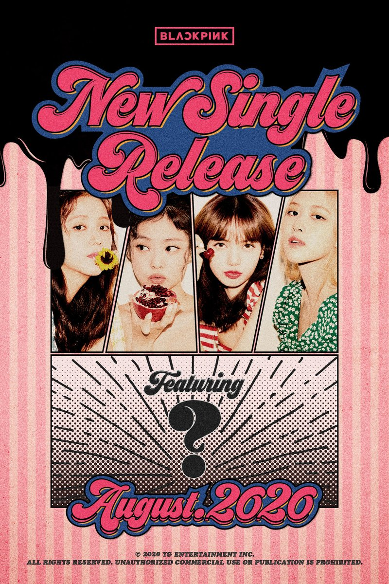 Poster single terbaru BLACKPINK