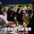 """Watch: Song Ji Hyo And SF9 Cheer Each Other On While Filming """"Was It Love?"""""""