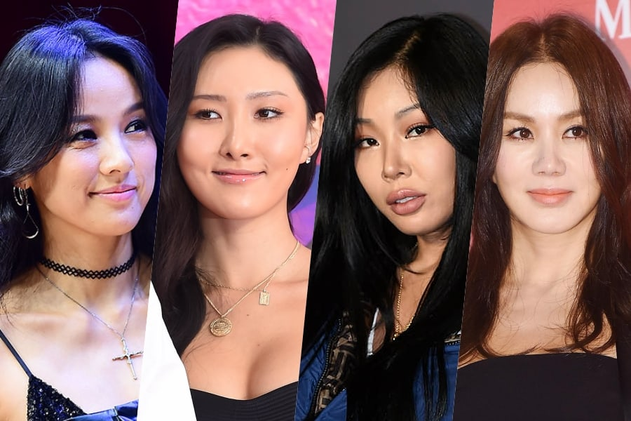 Lee Hyori, MAMAMOO's Hwasa, Jessi, And Uhm Jung Hwa Confirm Plans To Hold 1st Meeting For New Girl Group Project