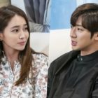 "Lee Min Jung And Lee Sang Yeob Cuddle Up On A Romantic Home Date In ""Once Again"""