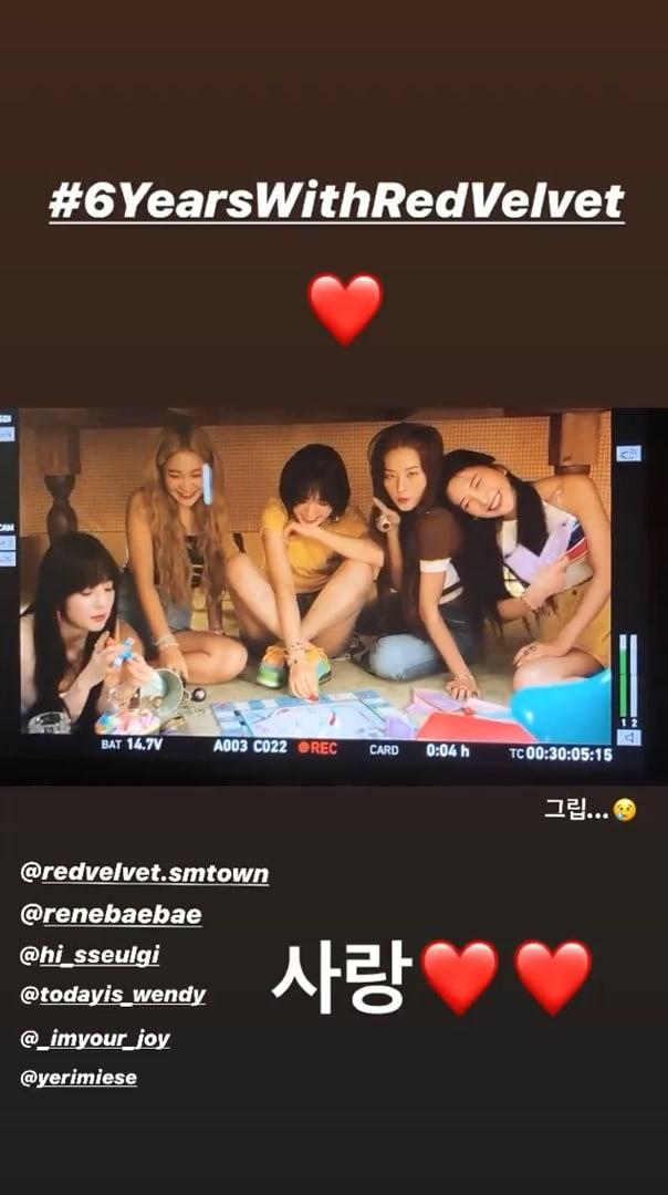 k-pop группа Red Velvet