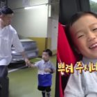 "Gary Nervously Gets Hao Ready For His 1st Day Of Kindergarten On ""The Return Of Superman"""