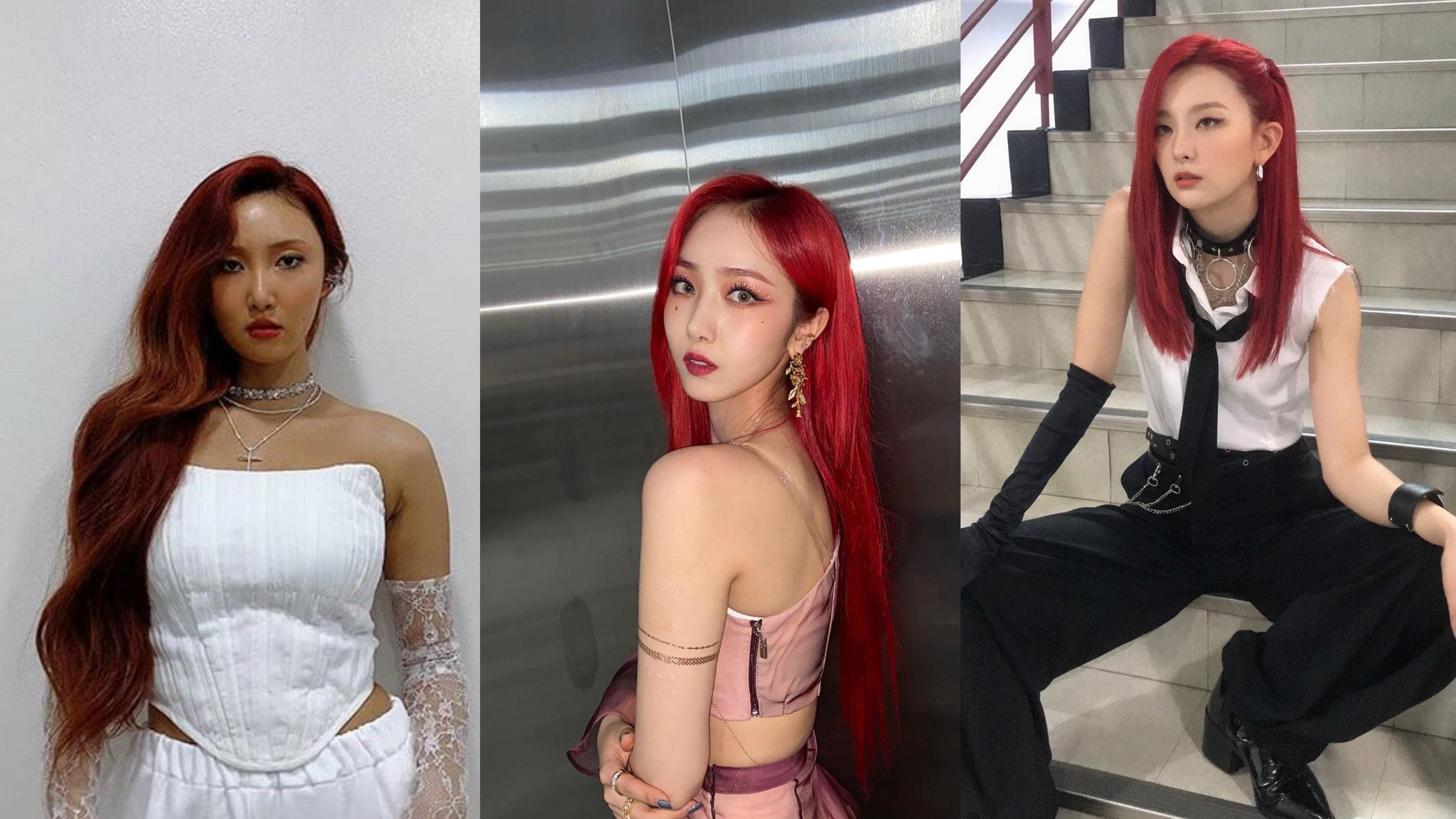 8 Inspirasi Tata Rambut dan Riasan Bintang K-pop