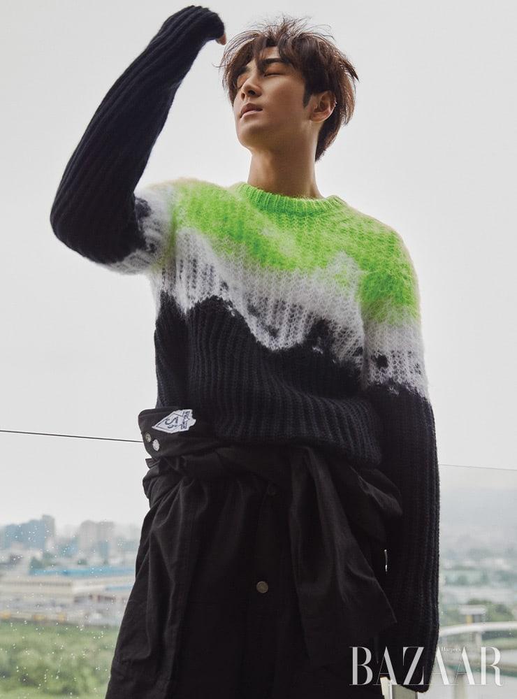 Baekho NU'EST Harper's Bazaar