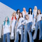 "LOONA Tops iTunes Albums Charts Around The World With New EP ""12:00"""