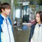 """Park Ji Hoon And Lee Ruby Share A Tense Moment In The Rain In """"Love Revolution"""""""