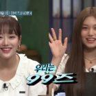 "Watch: APRIL's Naeun And Weki Meki's Kim Doyeon Show Their Different Skills In ""Amazing Saturday"" Preview"