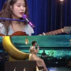 """Watch: IU Sings Unreleased Track, 1st TV Performances Of """"Blueming,"""" """"Eight,"""" And """"BBIBBI,"""" And Much More On """"Yoo Hee Yeol's Sketchbook"""" Special"""