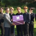 Watch: BTS Reunites With President Moon Jae In At Blue House To Give Speech For National Youth Day