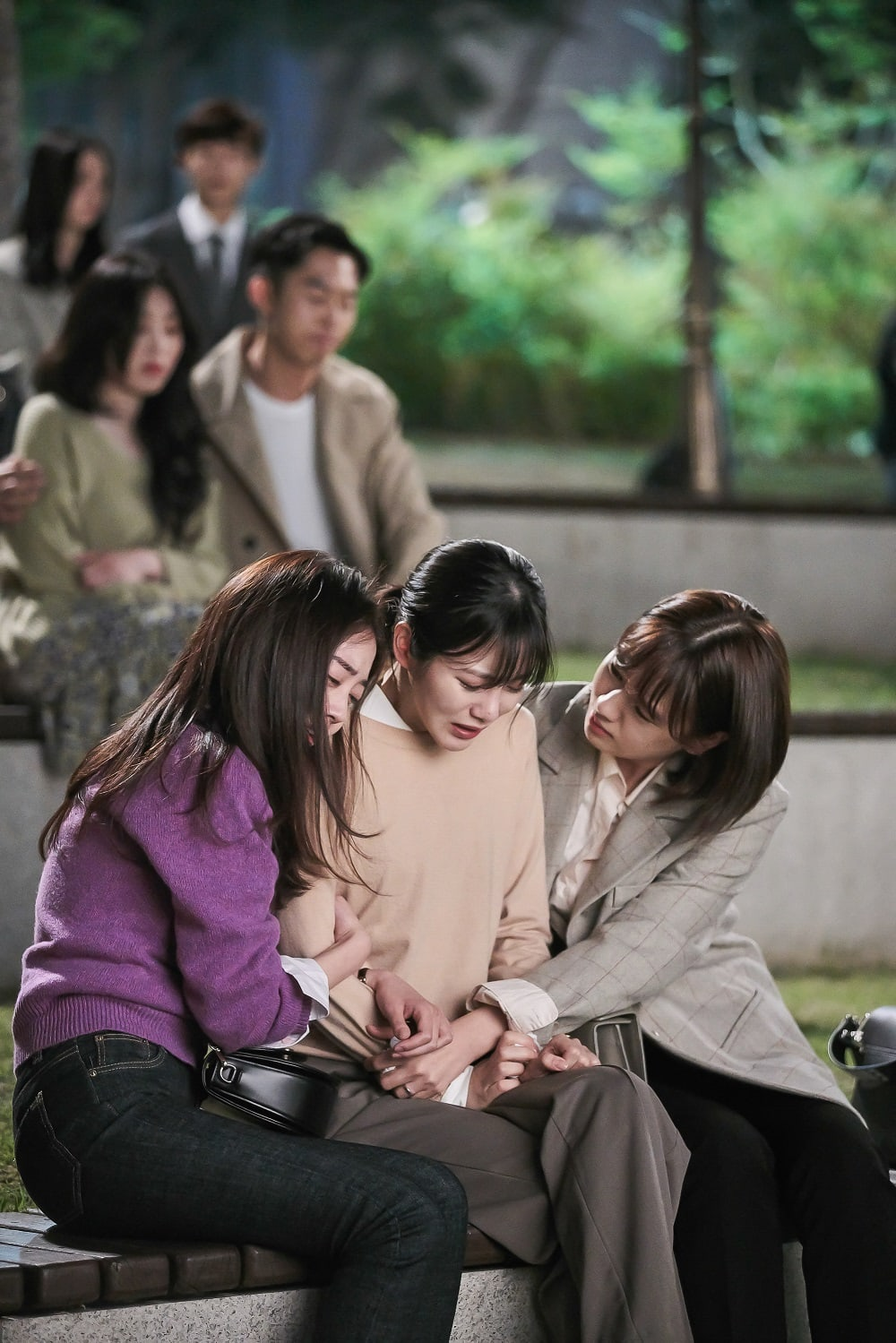 ahn eun jin baek soo min shin ye eun more than friends