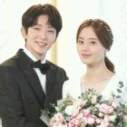 "Lee Joon Gi And Moon Chae Won Are A Happy Couple In Wedding Photos For ""Flower Of Evil"""