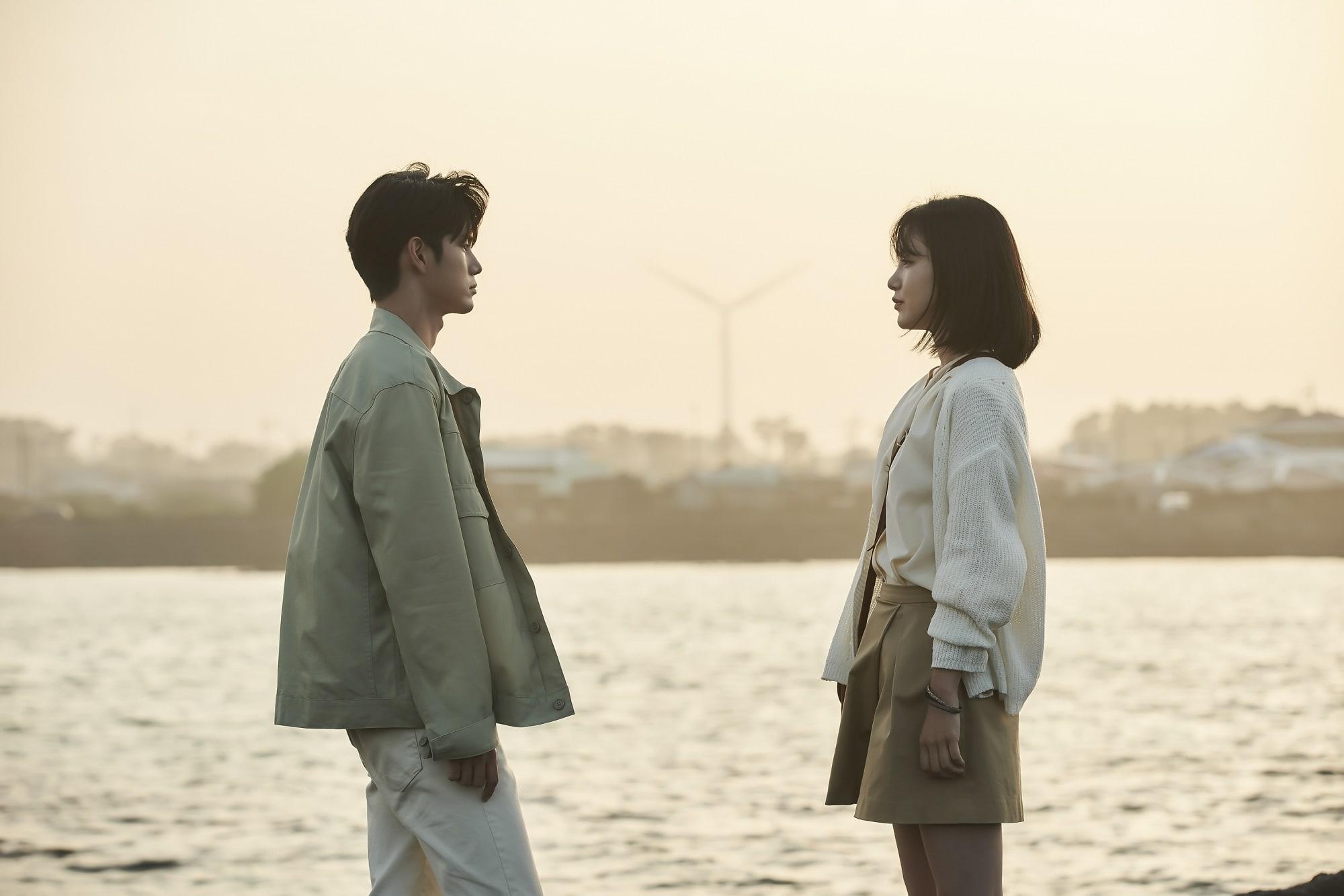 ong seong wu shin ye eun more than friends1