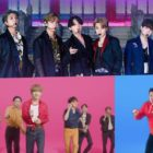 """Watch: BTS Performs """"IDOL"""" And """"Dynamite"""" For Day 1 Of BTS Week On """"The Tonight Show Starring Jimmy Fallon"""""""