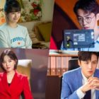 "Suzy, Nam Joo Hyuk, Kim Seon Ho, And Kang Han Na Get Into Character Behind The Scenes On ""Start-Up"""