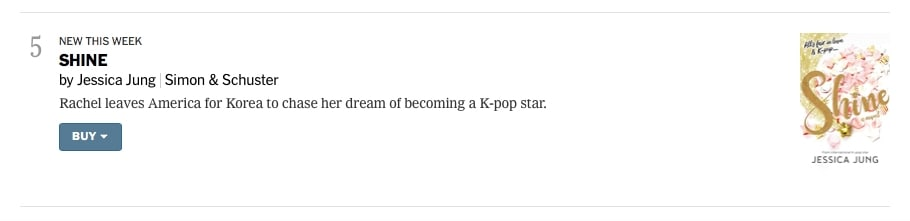 Jessica New York Times Best Sellers 2