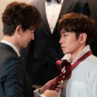 """Shinhwa's Eric And Im Joo Hwan Face Off As Yoo In Na's Former And Current Husbands In """"The Spies Who Loved Me"""""""