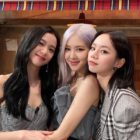 BLACKPINK's Rosé Shares Sweet Photo Taken With Jisoo And Girl's Day's Hyeri