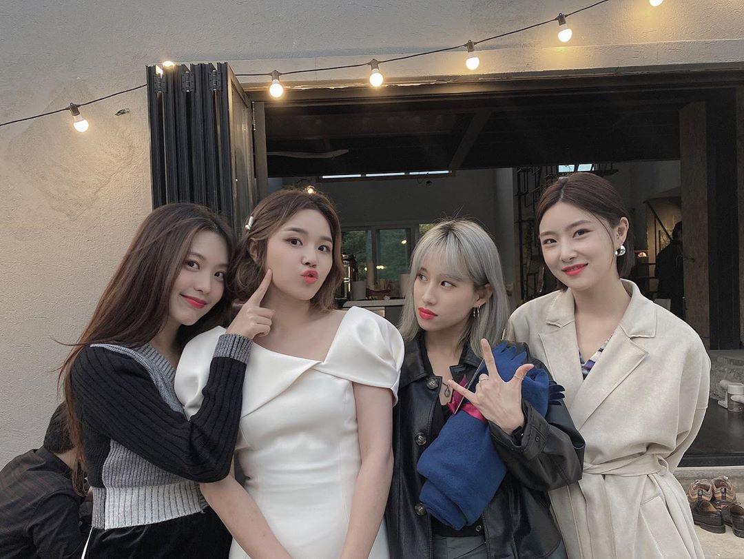 Green Heejin Park Soo Jin Yuna