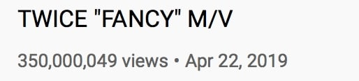 TWICE Fancy MV Views