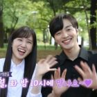 "Watch: Park Eun Bin And Kim Min Jae Are Playful While Filming ""Do You Like Brahms?"""