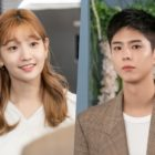 """Park Bo Gum Dashes Over To See Park So Dam In """"Record Of Youth"""""""