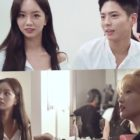 "Watch: Girl's Day's Hyeri Joins Park Bo Gum And Park So Dam On Set Of ""Record Of Youth"""
