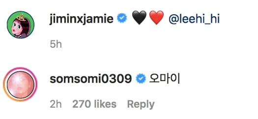Jamie Somi Instagram