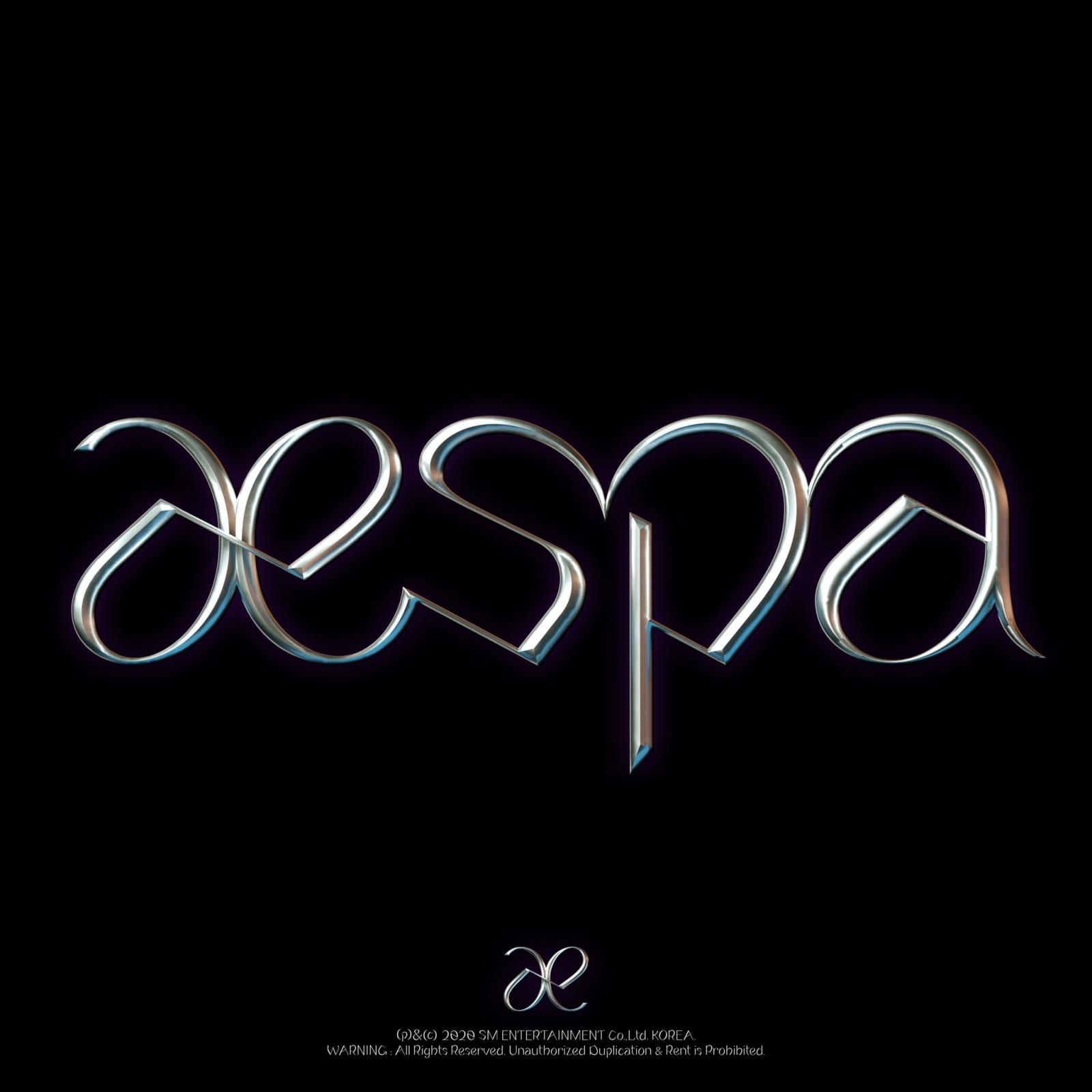 logo aespa yang dirilis SM Entertainment
