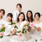 Rainbow Reunites To Celebrate Jisook's Upcoming Wedding + Ailee, Naeun, And More Show Love