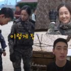 "Watch: Jang Dong Yoon, Krystal, And Yoon Park Keep Up High Spirits Despite Difficulties On Set Of ""Search"""