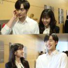 "Watch: Kim Min Jae Never Fails To Make Park Eun Bin Laugh Behind The Scenes Of ""Do You Like Brahms?"""
