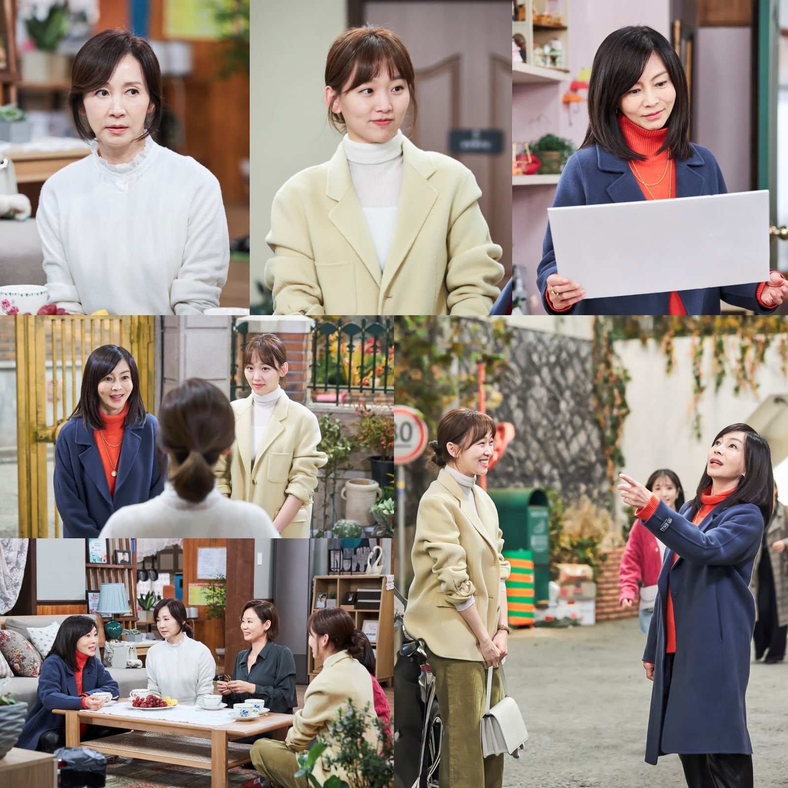 Jeon In Hwa Jin Ki Joo Hwang Shin Hye
