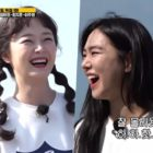 "Former College Friends Jun So Min And Han Ji Eun Talk About Their Past On ""Running Man"""