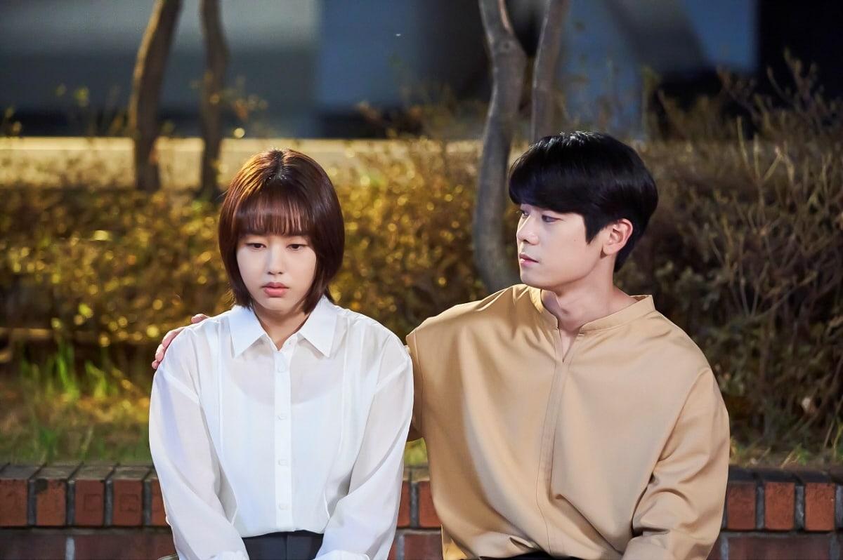 "Block B's PO and Baek Soo Min get closer in ""More Than Friends""."