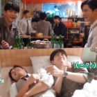 """Watch: Ong Seong Wu And Kim Dong Jun Get Shy While Acting Out Their Bromance In """"More Than Friends"""""""