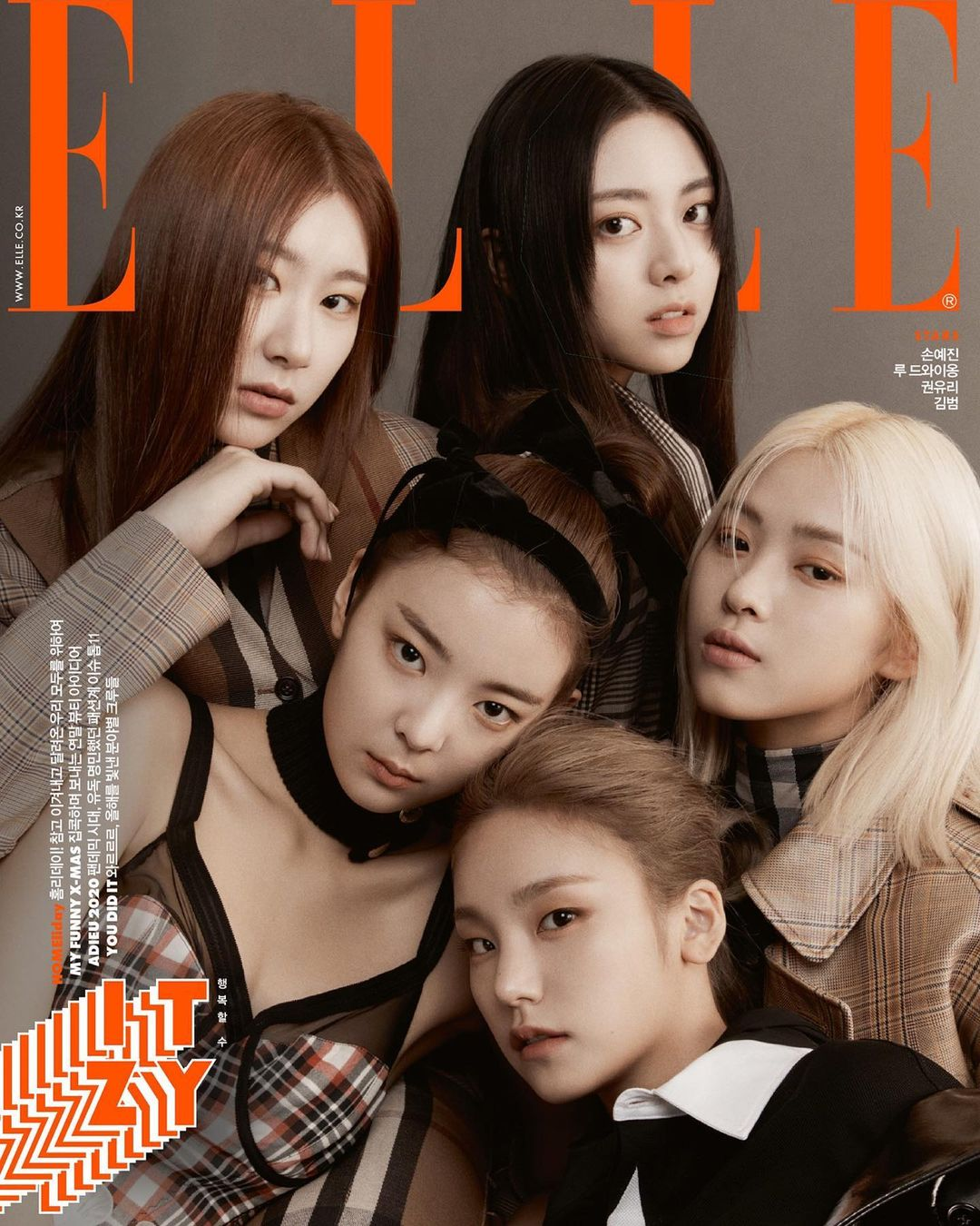 ITZY talks about the importance of self-respect and the kind of artist they want to be