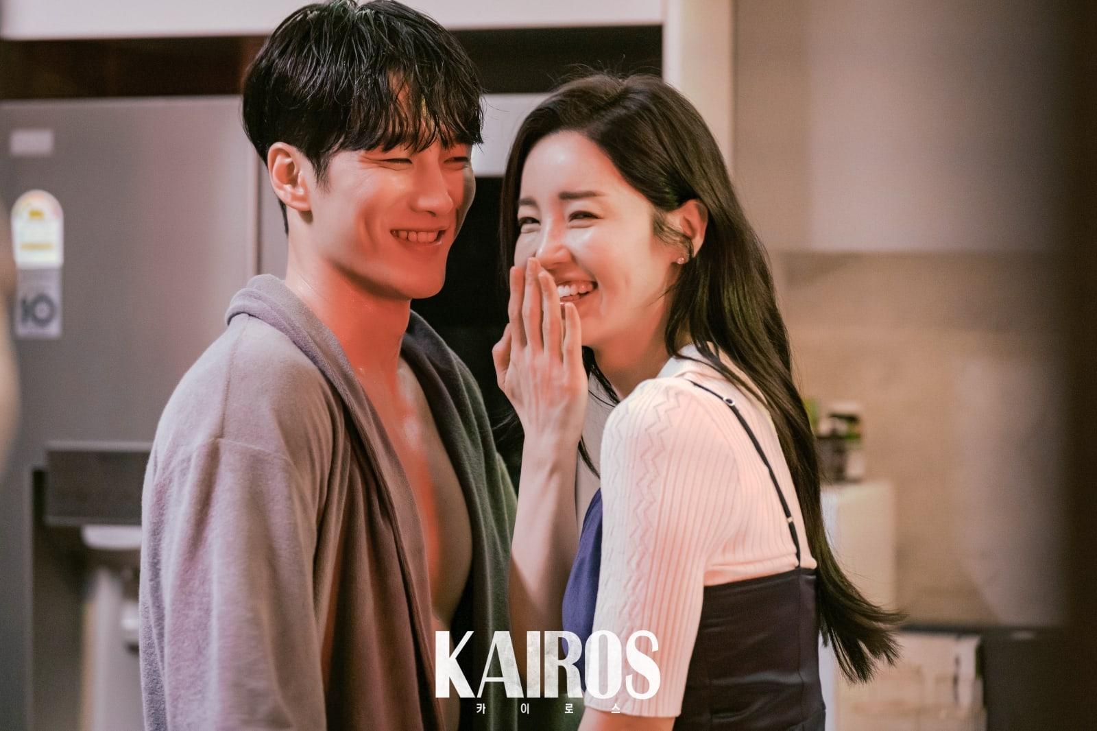 """Kairos"": Nam Gyu Ri hugs Ahn Bo Hyun with an indecipherable phrase"