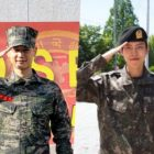 SHINee's Minho And INFINITE's Dongwoo Discharged From Military