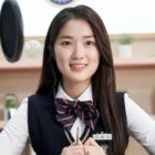 """Kim Hye Yoon Becomes A Bright-Eyed Broadcaster For Cameo In """"Live On"""""""